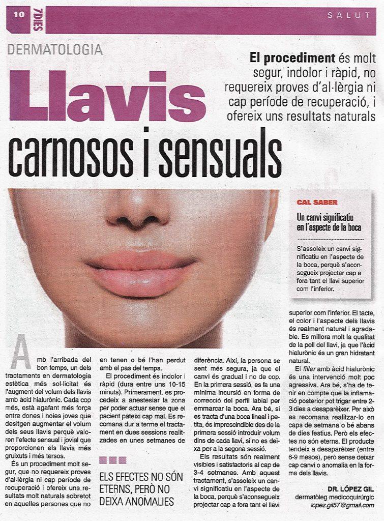 Llavis carnosos i sensuals- Maig 2015
