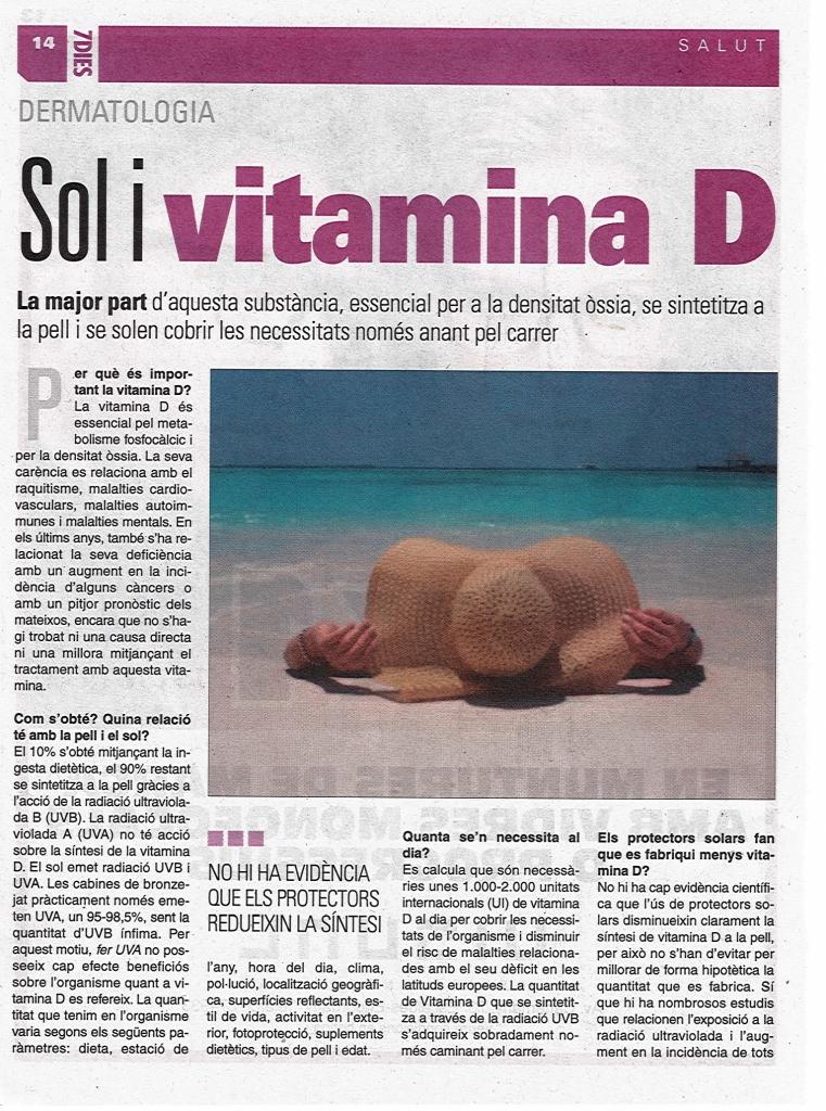 Sol i vitamina D