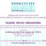 """Xerrada """"Taques, Nevus i Melanoma"""""""